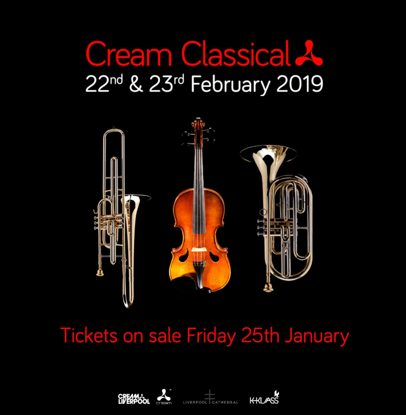 Cream Classical at Liverpool Cathedral